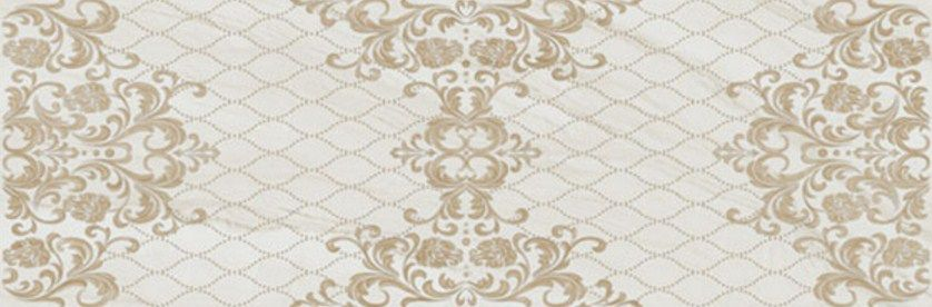 Porcelanite Dos 1201 Beige Decor Rect Настенная плитка