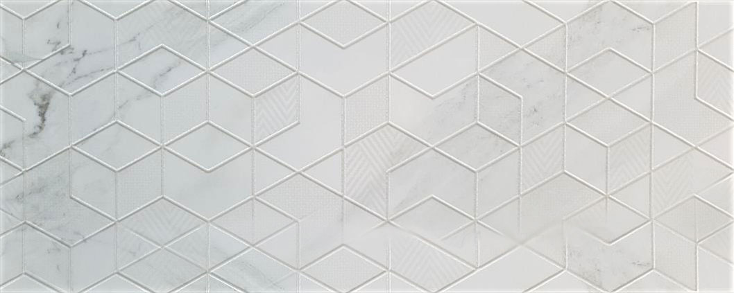 Porcelanite Dos 1212 Decor Blanco Diamond Настенный декор