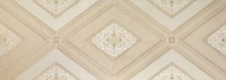 Porcelanite Dos 1321 Crema Decor Saphir Декор