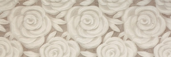 Porcelanite Dos 9535 Rectificado Crema Relieve Rose Настенная плитка
